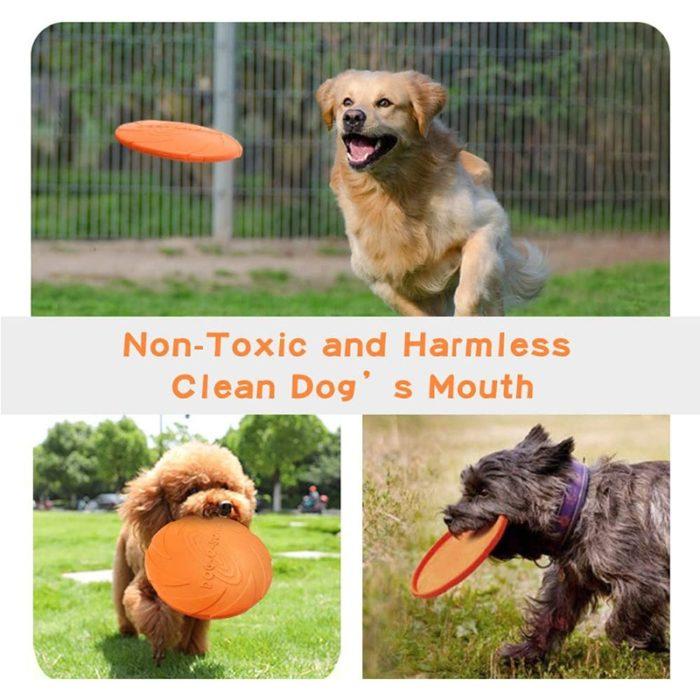 Frisbee Dog Toy Pet Flying Disc