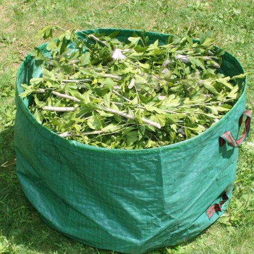 Reusable Green Garden Rubbish Bag