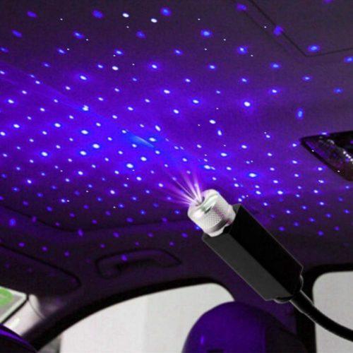 USB Car Roof Star Light Mini Projector
