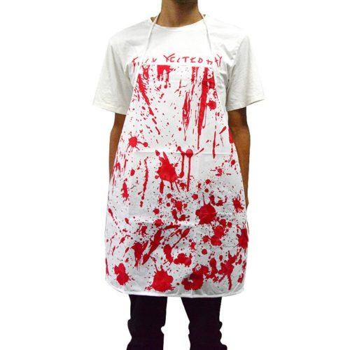 Halloween Apron Creative Bloody Costume