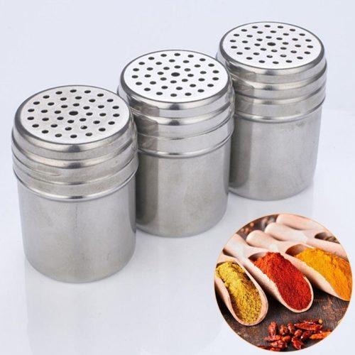 Stainless Steel Spice Shaker Bottle