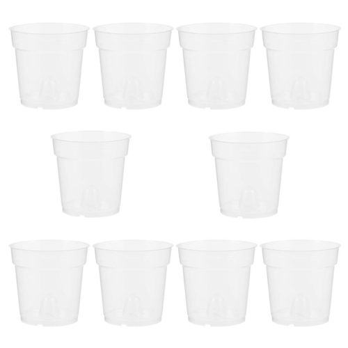 Transparent Resin Planting Cups (10pcs)