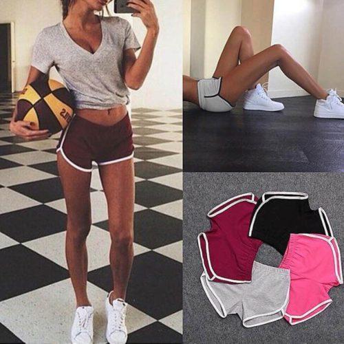 Ladies Workout Shorts Sports Wear