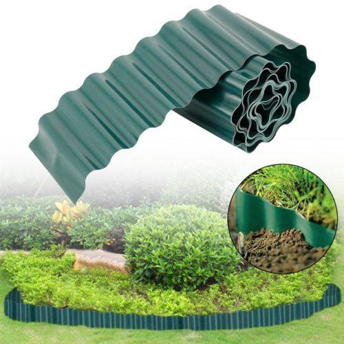 Wavy Plastic Garden Plant Border
