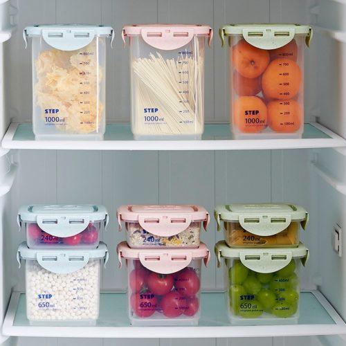 Plastic Pasta Storage Container