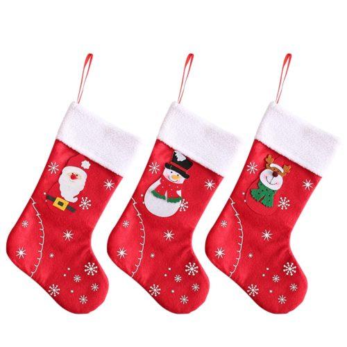 Cute Hanging Christmas Stocking Decoration