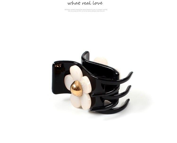 good Flower Hair Claws for Women Hair Barrette Hairpin Crab Hair Claw Clips for girls Hair Accessories Headwear Ornament