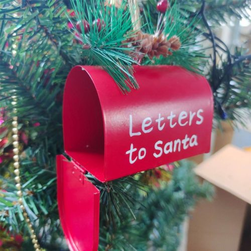 Letters To Santa Mailbox Christmas Decoration