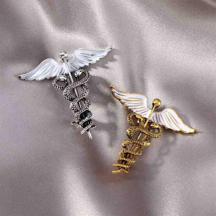 Medical Symbol Doctor Brooch Pin