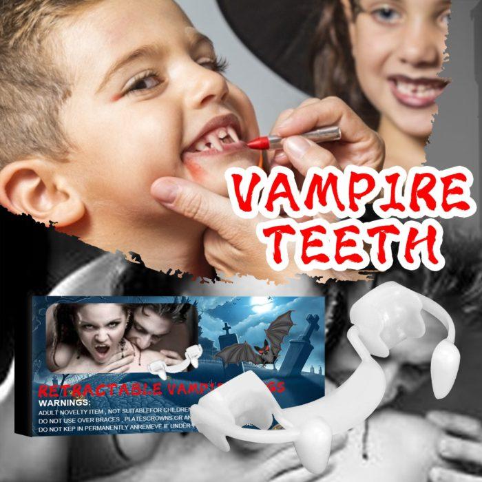 Halloween Costume Vampire Dentures