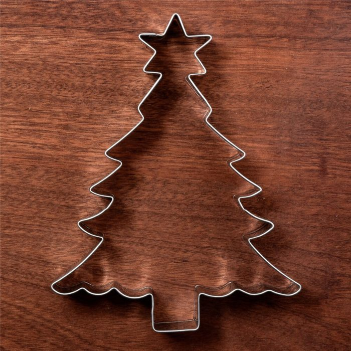 Stainless Steel Christmas Tree Cookie Cutter