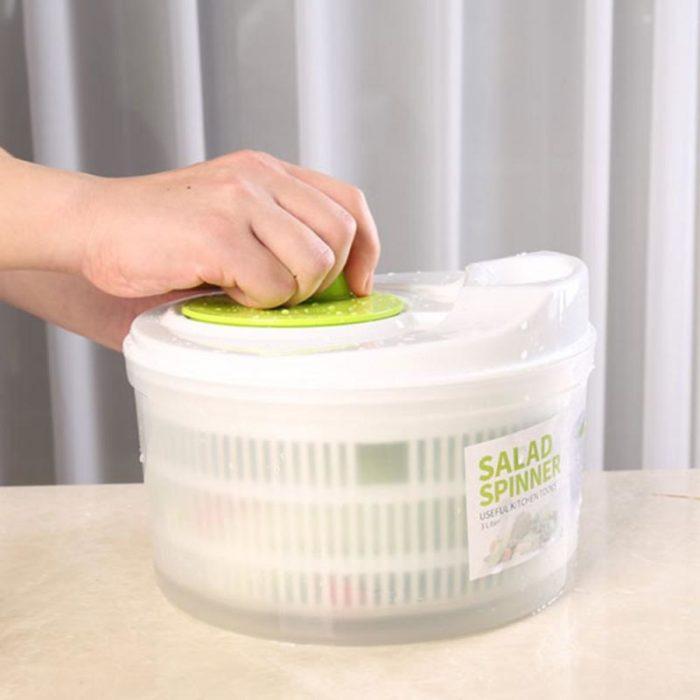 5L Plastic Kitchen Lettuce Washer