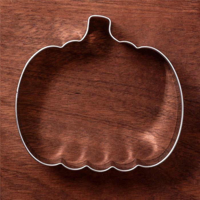 Stainless Steel Pumpkin Cookie Cutter