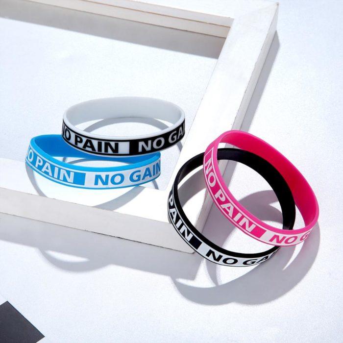 Motivational Wristband Silicone Bracelet