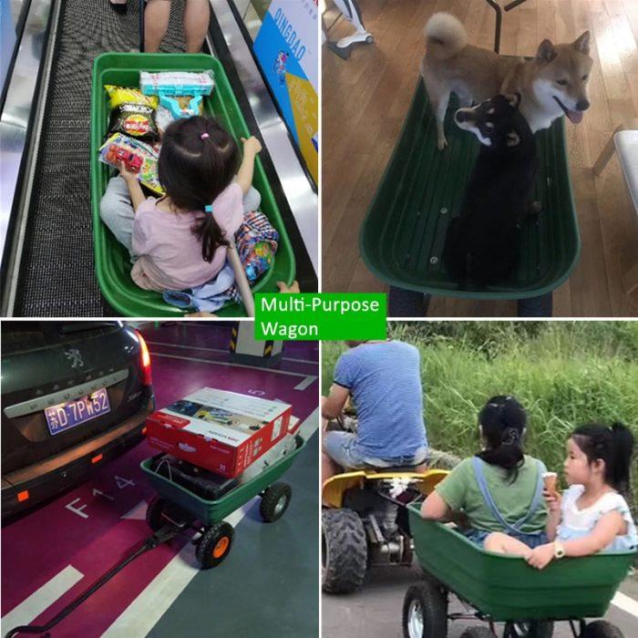 Multipurpose Garden Dump Cart