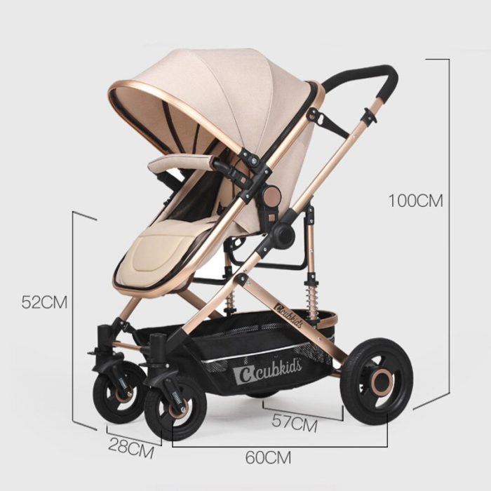 Detachable Baby Twins Stroller