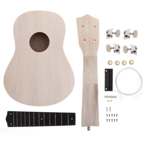 Wooden DIY Ukulele Kit (16pcs)