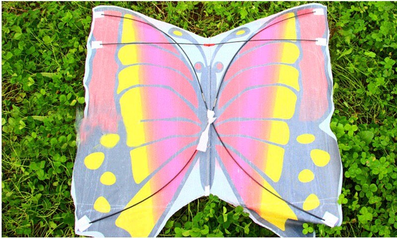 free shipping high quality butterfly kite with handle line children kite flying toys easy control ripstop nylon birds eagle kite