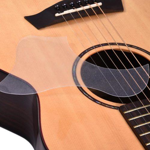 Clear PVC Guitar Pickguard Sticker