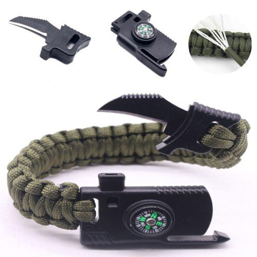 Self Defense Survival Bracelet