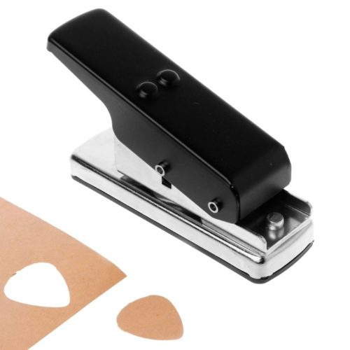 Stainless DIY Guitar Pick Puncher