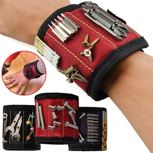 Carpenter's Magnetic Wristband for Screws