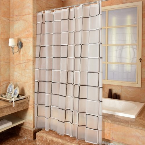 Mildewproof and Anti-Mold Shower Curtain