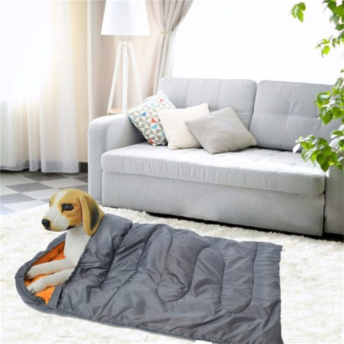 Dog Sleeping Bag with Storage Pouch
