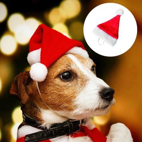 Dog Santa Hat Christmas Pet Head Wear
